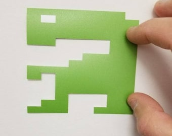 E.T. Atari 2600 contour decal. (Buy any 3 of my stickers, GET ONE FREE!)