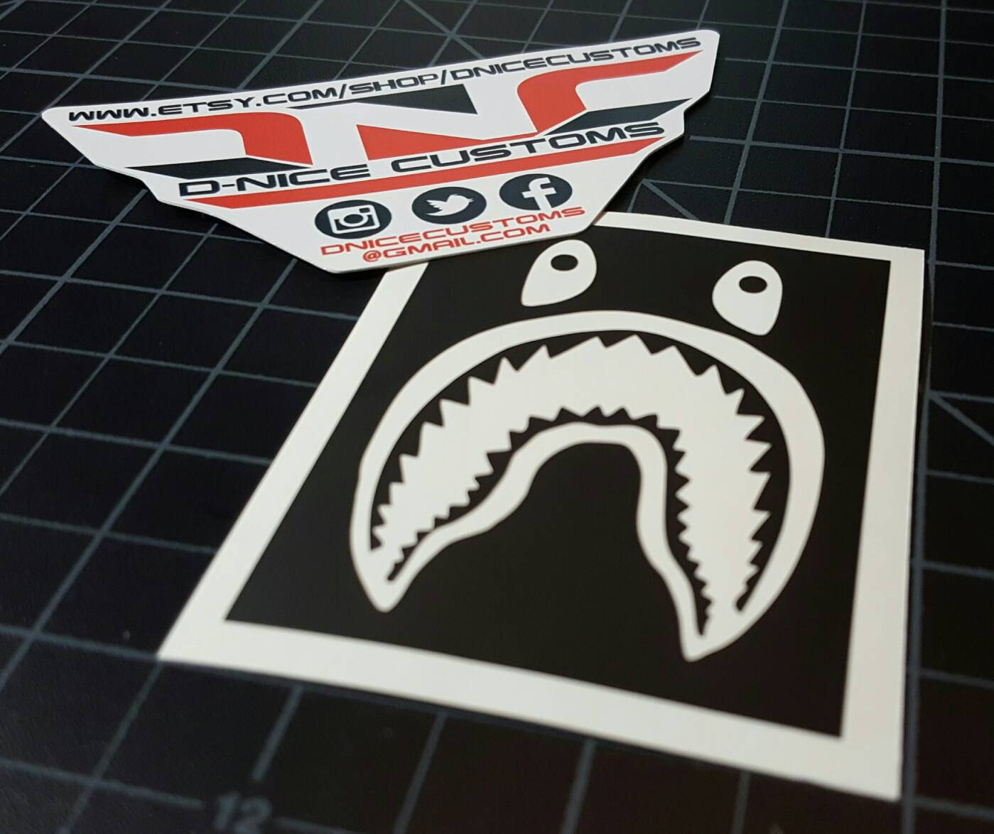Bape Shark Stencil