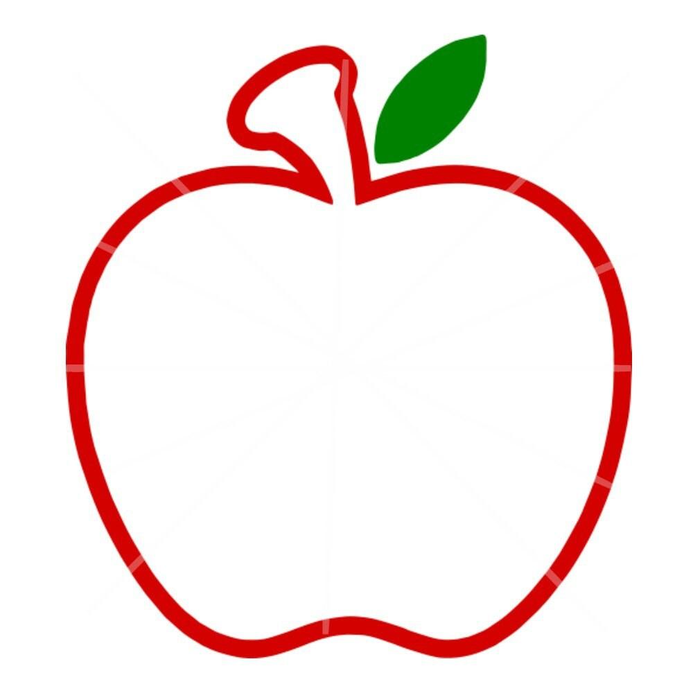 Svg Apple Monogram Frame Svg Apple Frame on Boy Paper Doll
