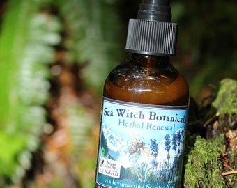 Herbal Renewal Body Veil~Lavender and Rosemary~No Fragrance Oils~No Petroleum~All Natural~Room Spray