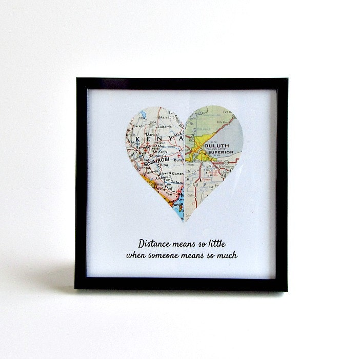 Valentine's Day Gift For Girlfriend, LDR Anniversary Gifts, Boyfriend Birthday Gift, Long
