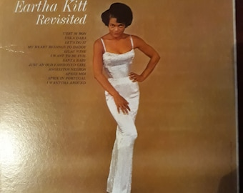 Eartha Kitt Revisited LP Kapp Records KL-1192 1960 Mono very good USA copy 33rpm