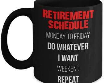 Funny Retirement gifts for men or woman funny retiree Funny Mug