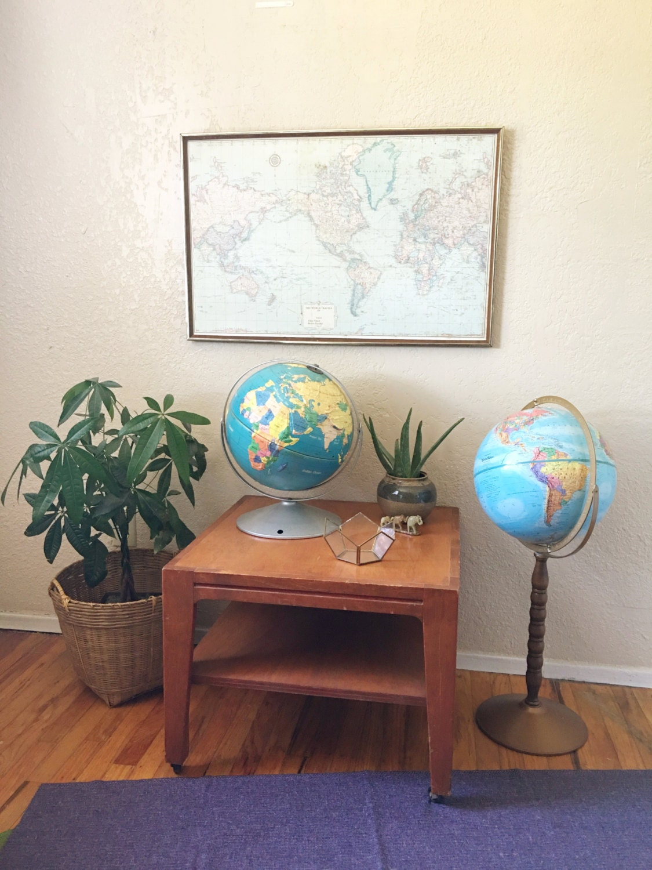 world with globe map floor globes stand gemstone floors