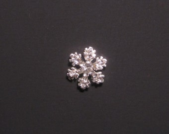 Snowflake Charm - Memory Lockets - Fits 25 and 30mm Floating Memory Lockets