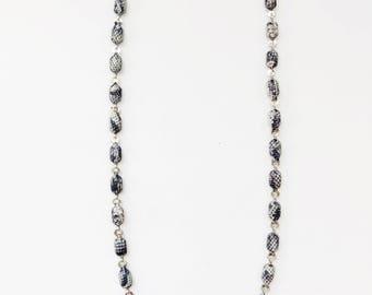 Silver Snakeskin Chain