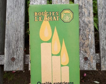 Bougies Le Chat Vintage Candles