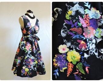Retro Flowery Dress