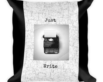 Just Write Pillow