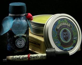 Bay Rum/Black Cherry: Gasparilla Oil/Balm Combo
