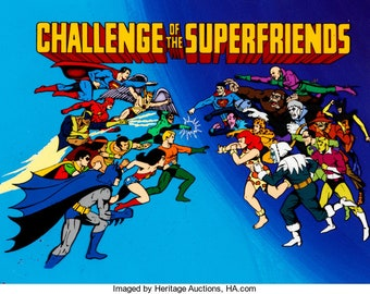 Challenge of the Super friends all 16 episodes from 40 years ago on a Brand New Superman USB Drive