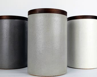 Captivating Kitchen Canisters / Canister Set Modern / Kitchen Storage Jars / Utensil  Holder / Kitchen Organization