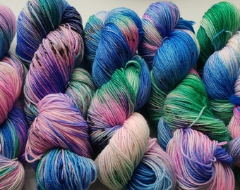 Just Magical on Super wash Sock Yarn