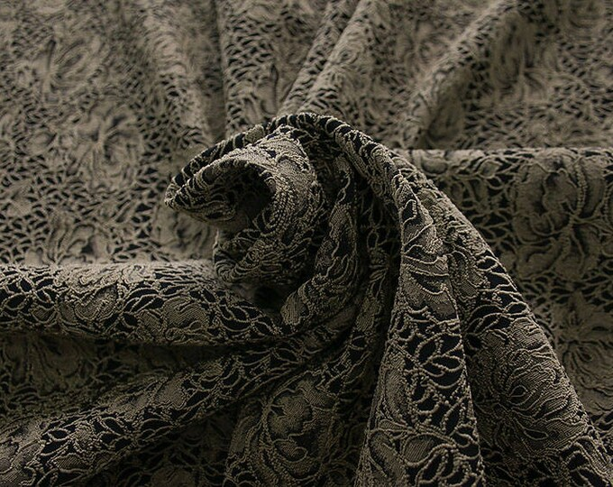 990091-010 JACQUARD-Pl 86%, Pa 12, Ea 2, 150 cm wide, manufactured in Italy, dry cleaning, weight 368 gr, price 1 meter: 57.17 Euros