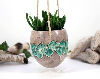 Ceramic planter L, ceramic pot, planter pot, ceramic pot, home decor pots, succulent planter, flowers pot, indoor planter, gift for gardener