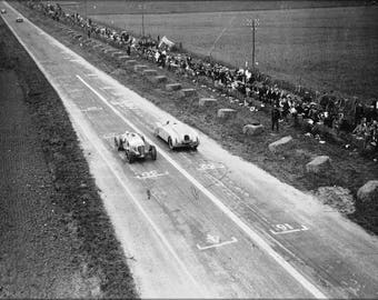 Poster, Many Sizes Available; 1936 Grand Prix De La Marne Race