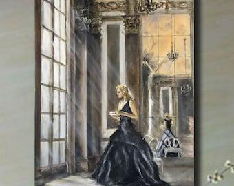 Oil Painting, Original Painting, Classic Art,vintage art