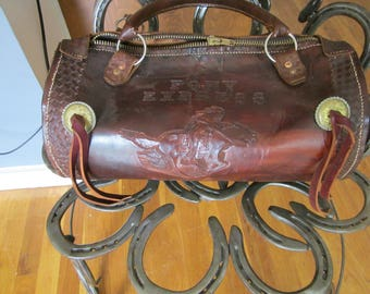Nevada Pony Express Tote Bag Western Unique