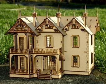 Victorian Doll house Mansion.
