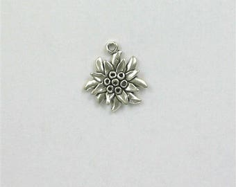 Sterling Silver Edelweiss Charm