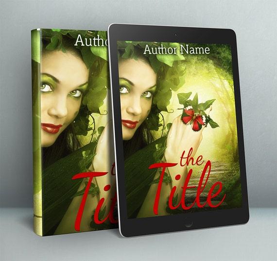 Premade fantasy fairy book cover-self publishing author