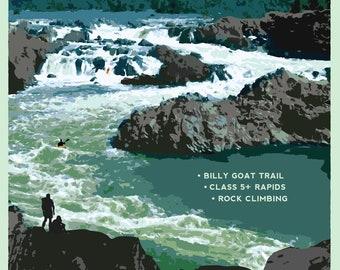 Great Falls 18x24 Poster
