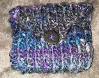 Small Knit Change Purse
