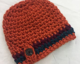 Winter Hat with Button