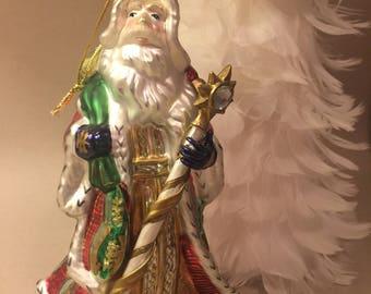 Large Fitz & Floyd Christmas Santa