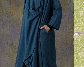 Leigh Coat TG-A7053  Sewing Pattern by Tina Givens- Lagenlook Style! Sz.XS- 2X