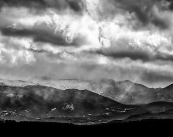 Rocky Mountain National Park Storm