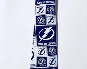 NHL Tampa Bay Lightning Inspired Mens Tie