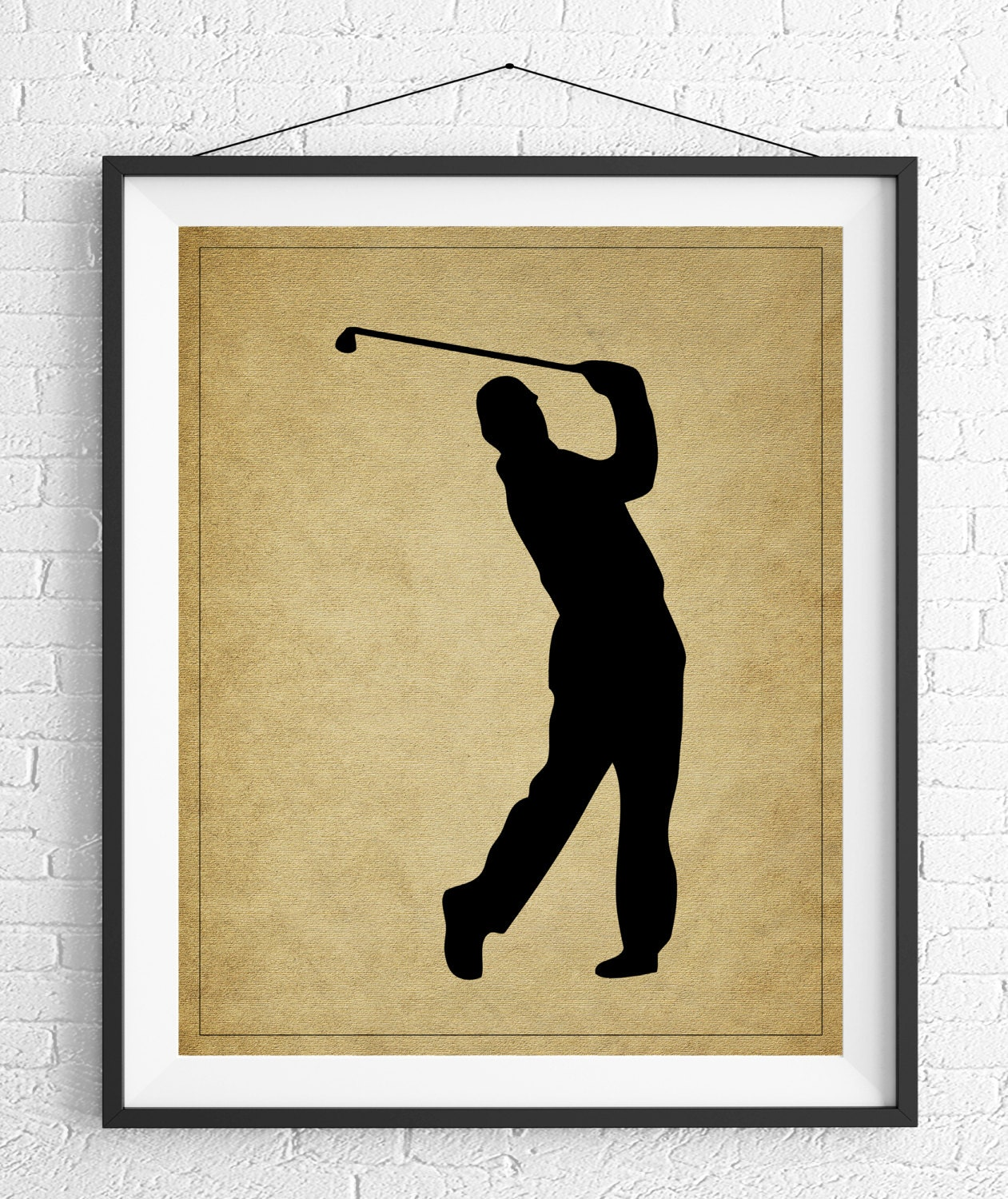 Golf Art, Golf Gifts for Men, Golf Decor, Golf Print, Gift for ...