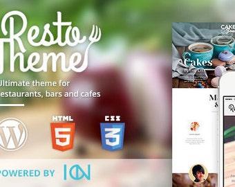 Cafe Theme – WordPress Template for Restaurants