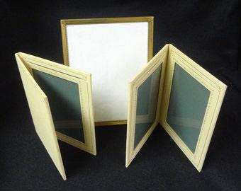 Set of THREE (3) Vintage 5'' x 7'',  8'' x 10'' Photo FRAMES