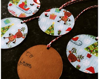Christmas Gift Tag - Gift Tag - Holiday Gift Tag