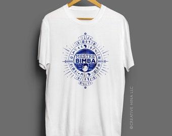 For Mestre Bimba, For Capoeira Tee Shirt / Print / Bimba/ Capo / Brazil /Made In Detroit