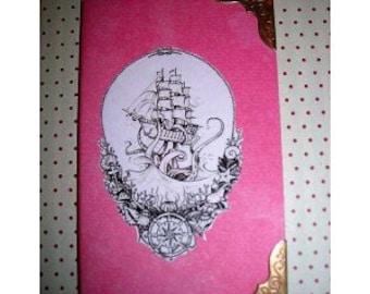 Notebook Octopus attacking a ship