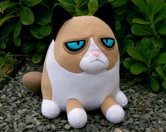 Grumpy Cat Plush - Made to Order
