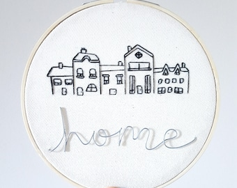 Home Hand Embroidery / Wire Art