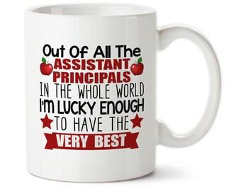 Coffee Mug, Assistant Principal Mug, Principal Gift, End Of Year Gift, School Principal Mug, Assistant Principal Cup, Principal Gift, School