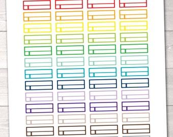 Instant Download Planner Stickers Reminder Labels Printable Planner Sticker PDF