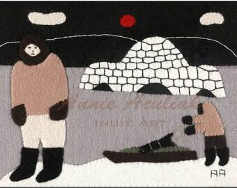 Print #3:  Big Noah Aculiak