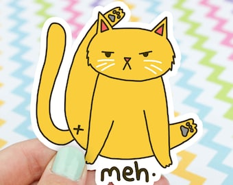 Cat Butt Sticker, Funny Cat Sticker, Cat Sticker, Cat Bum, Hydroflask Sticker, Cute Cat Sticker, Funny Gift, Cat Lover Gift, Funny Cat Vinyl