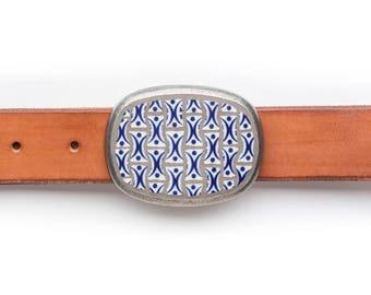 Handmade Mosaic Belt Buckle