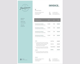 Invoice Template Invoice Design Receipt MS Word Invoice - Creative invoice template free download japanese online store