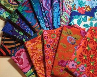 "Kaffe Fabric - Kaffe Fassett Collective and Friends"" 20- 1/2 YDS Bundle or FQ 1/4 YDS 100% Quality Cotton"
