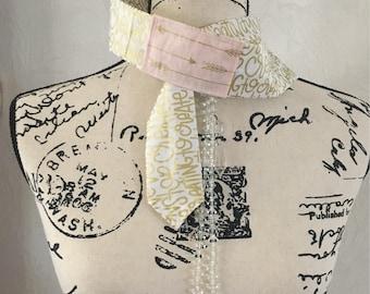 Creative Type with pink boho arrows Head  Wrap