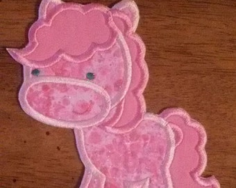 Iron On Applique Pinkie Pie