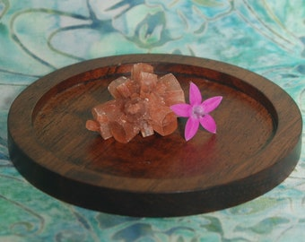 1 RED ARAGONITE STAR Stone - Red Aragonite Crystal, Red Aragonite Stone, Rough Red Argonite Starcluster, Aragonite Flower
